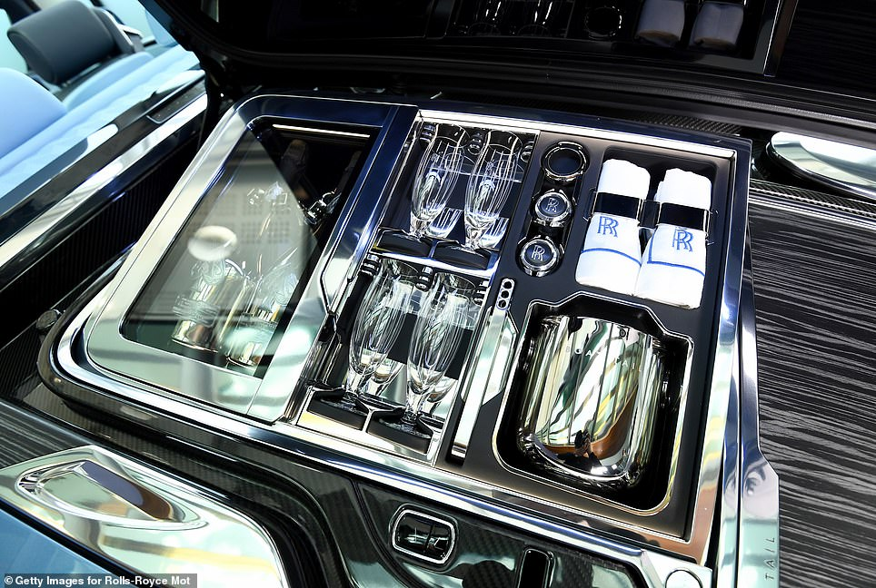 As you would expect from Rolls-Royce, every intricate detail of the car is finished to the highest standard