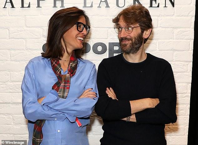 In the money: Boss Maria Raga and founder Simon Beckerman