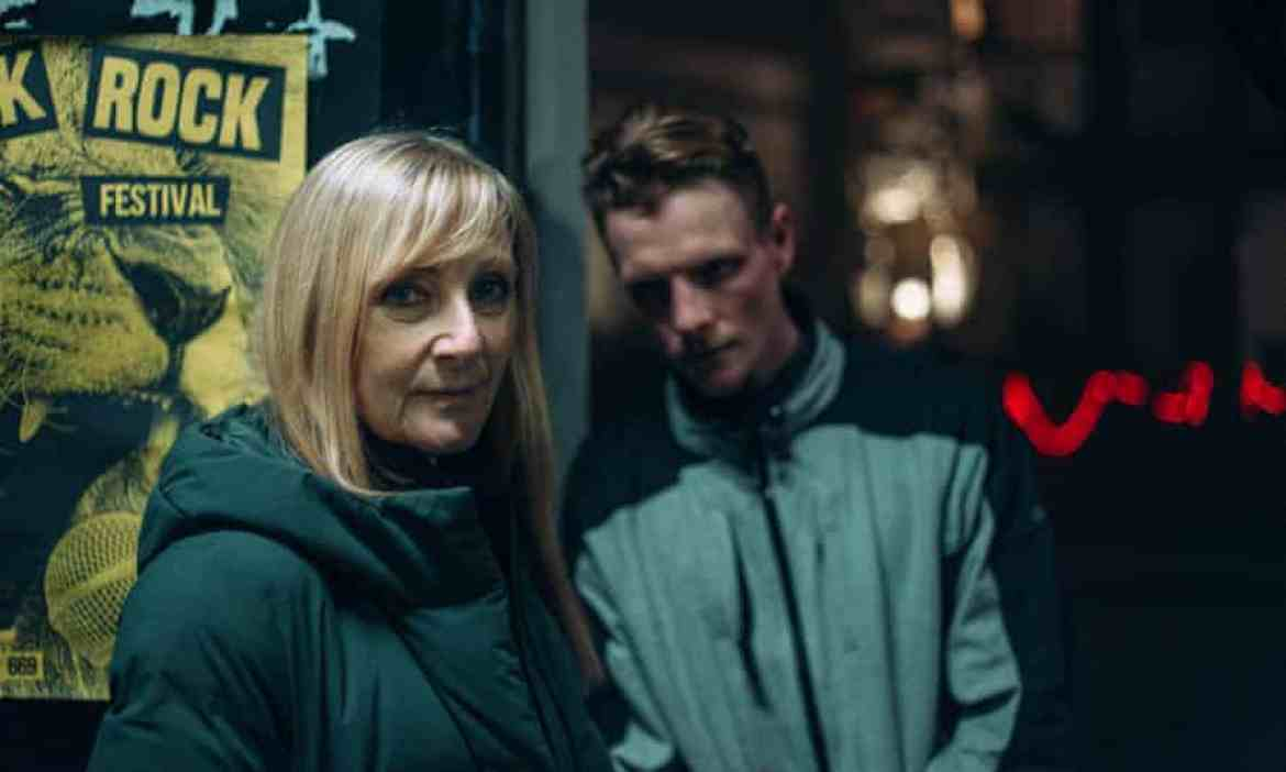 Lesley Sharpe and Patrick Gibson as Hannah and Christian in Before We Die.