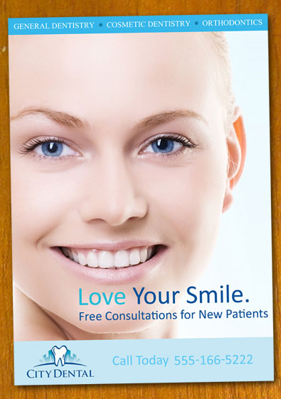 Free Sample Dentist And Dental Flyers Template