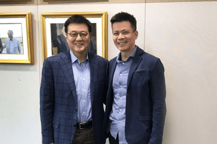 Yong Hyun Kim, CEO of Hanwha Asset Management and Danny Toe, Founder and CEO of ICHX Tech Pte. Ltd featured image
