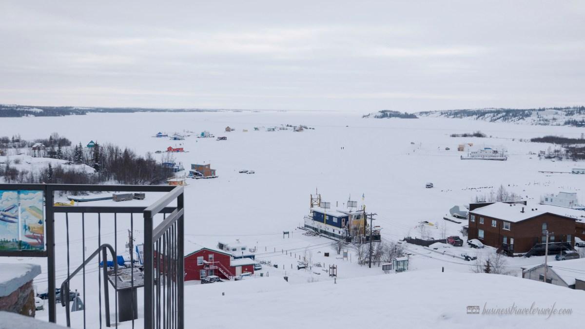 Northern Lights or Aurora Borealis at Yellowknife Canada