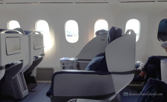 7 Perks of Flying in First Class and Business Class: - reclining seats