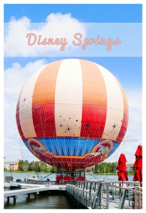 what to do in Disney Springs hot air balloon