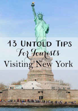 13 Untold Tips for Tourists Visiting NY