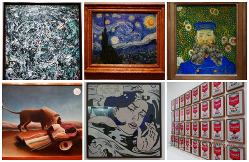tips for tourists visiting New York - MoMa Free NYC Museum famous artworks
