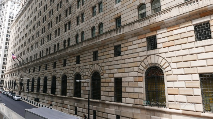 tips for tourists visiting New York - federal reserve