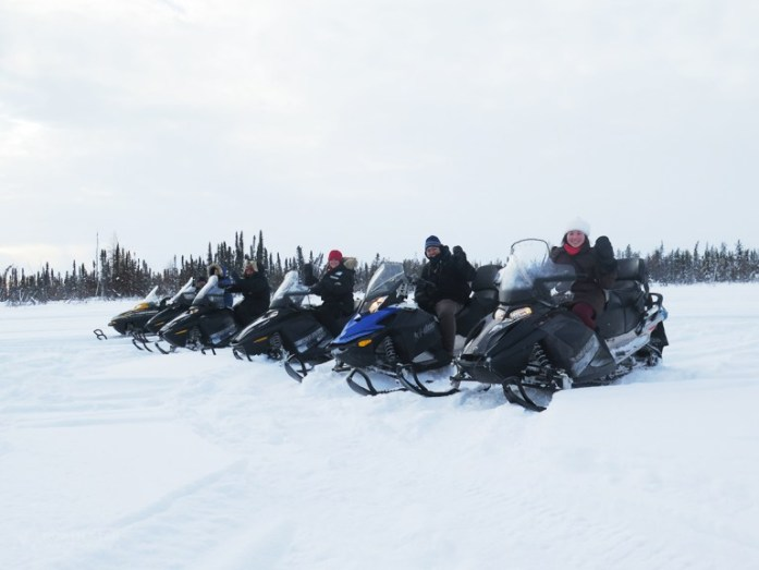 25 Items in My Bucket List Snowmobile Tour Yellowknife