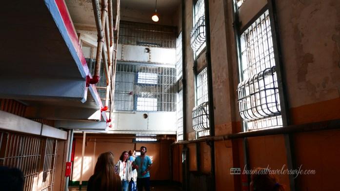 sights to see in san francisco bay alcatraz island cellhouse