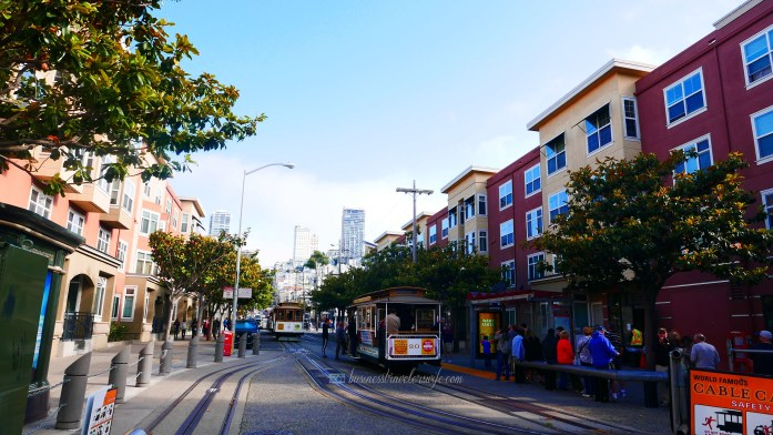 Tips for Visiting San Francisco cable car powell fisherman's wharf