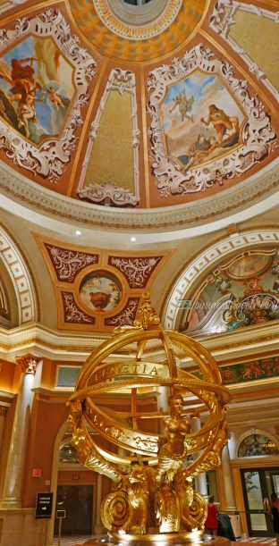 Hotel Review: The Venetian Las Vegas Armillary Sphere