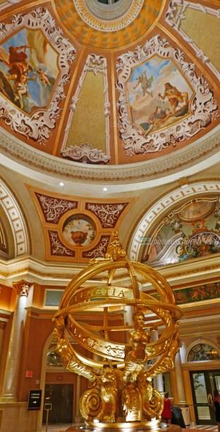 Hotel Review: The Venetian Las Vegas Armillary Sphere