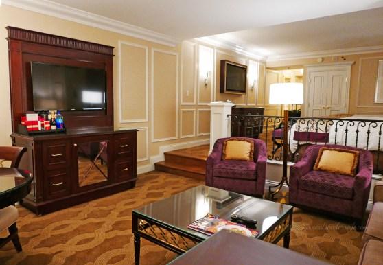 Hotel Review: The Venetian Las Vegas Bella Suite Living Room