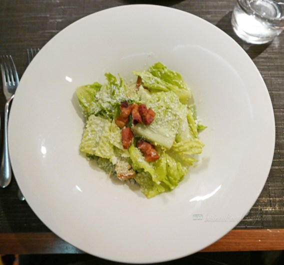 Toronto Jacobs & Co. Steakhouse perfect dinner date jacobs caesar salad