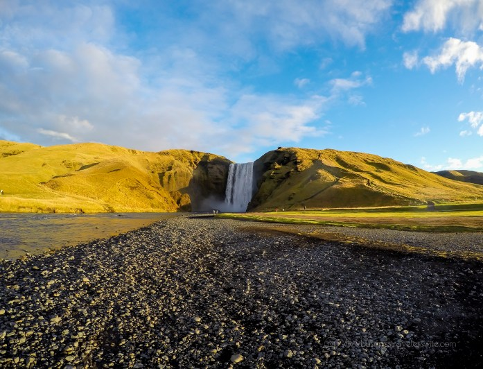 Exploring the Beautiful Waterfalls of Iceland Skogafoss Falls
