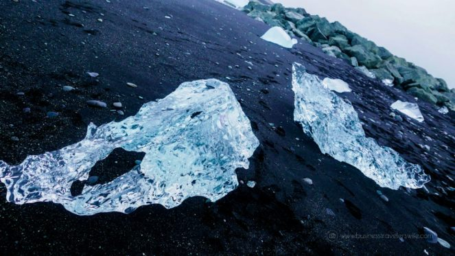 Discover the Glaciers in Iceland (A Self-Drive Tour) Jokulsarlon Glacier Lagoon Diamond Beach Black Sand Beach Ice Crystal