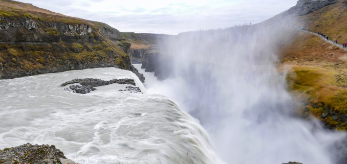 Exploring the Beautiful Waterfalls of Iceland Gullfoss Falls