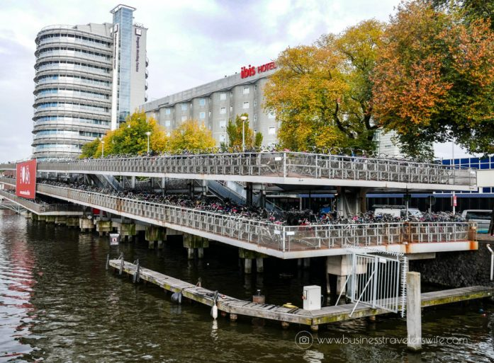 10 Interesting Things to Do in Amsterdam - Multi-level Bicycle parking station