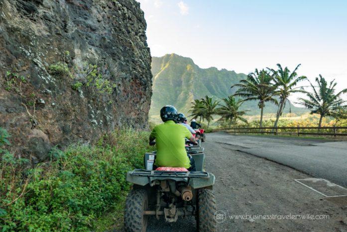ATV Tour in Kualoa Ranch Oahu World War II Bunker Views (1 of 1)-2