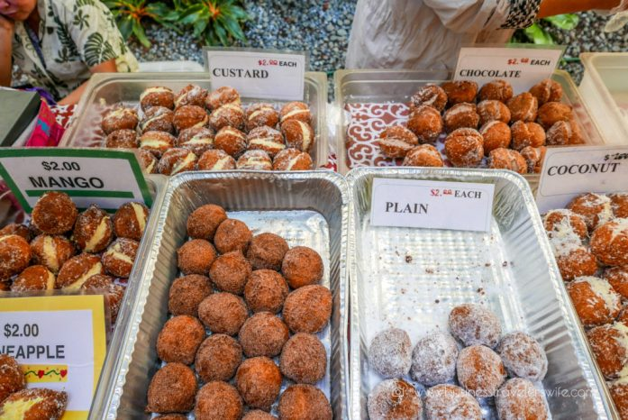 Hotel Review on Hyatt Regency Waikiki Beach Resort & Spa Honolulu Oahu Hawaii Farmers Market Malasadas (1 of 1)
