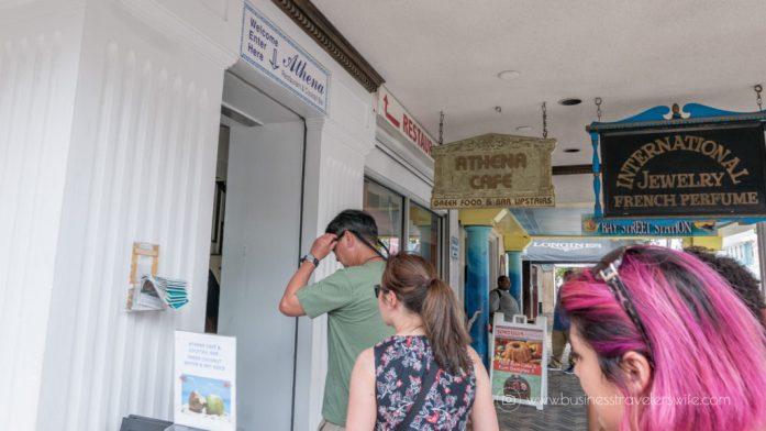 Eat Like a Local in Bahamas Tru Bahamian Food Tours' Bites of Nassau Athena Cafe & Bar