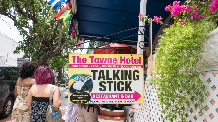 Eat Like a Local in Bahamas Tru Bahamian Food Tours' Bites of Nassau Talking Stick