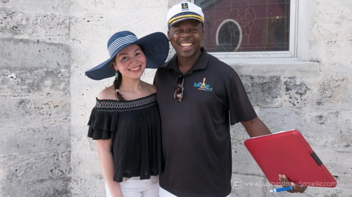 Eat Like a Local in Bahamas Tru Bahamian Food Tours' Bites of Nassau Tour Guide Captain Ron