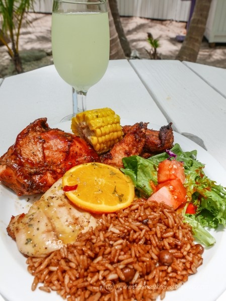 VIP Beach Day and Dolphin Encounter on Blue Lagoon Island, Bahamas Grilled Lunch Buffet