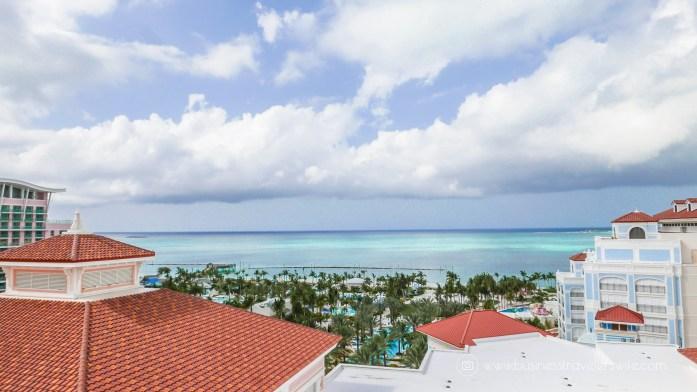 Grand Hyatt Baha Mar - A Grand Vacation in Nassau Bahamas Balcony View