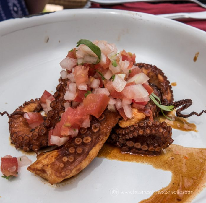 Experience the All-Inclusive Resort at Hyatt Ziva Cancun Habaneros Octopus Ceviche Tacos (1 of 1)