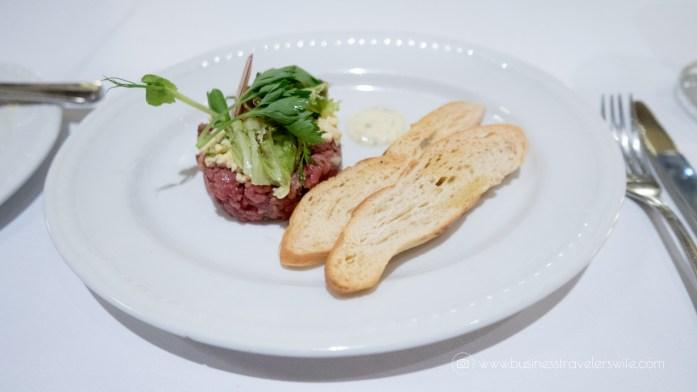 Experience the All-Inclusive Resort at Hyatt Ziva Cancun La Bastille Steak Tartare