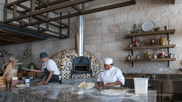 Experience the All-Inclusive Resort at Hyatt Ziva Cancun Lorenzo's wood-fire oven pizza