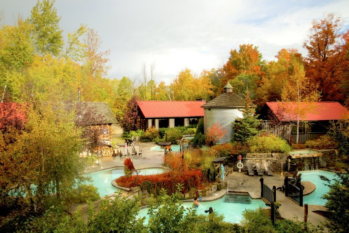 Fall relaxing Getaway at Scandinave Spa Blue Mountain