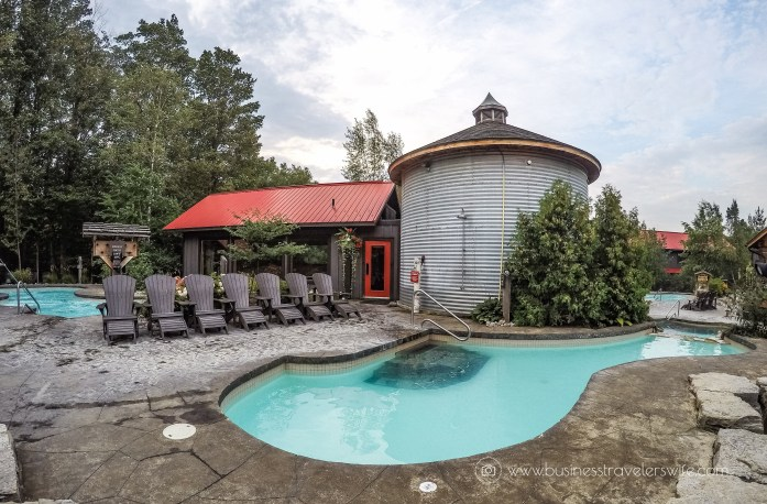 Relaxing Getaway at Scandinave Spa Blue Mountain Norwegian steam bath eucalyptus steam bath