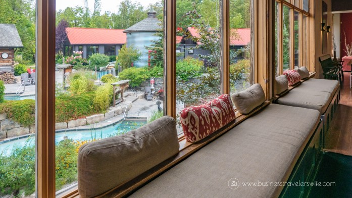 Relaxing Getaway at Scandinave Spa Blue Mountain Lobby