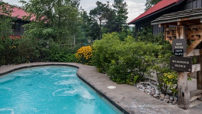 Relaxing Getaway at Scandinave Spa Blue Mountain scandinavian bath