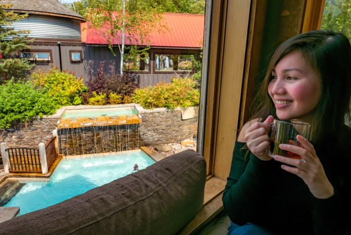 Relaxing Getaway at Scandinave Spa Blue Mountain scandinavian bath Business Traveler's Wife