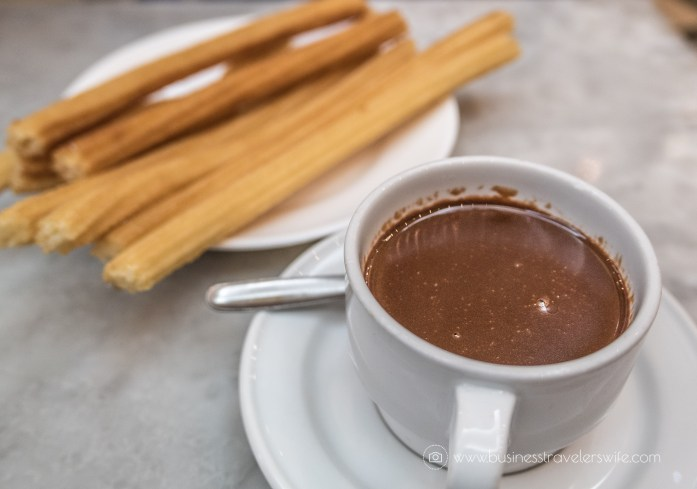 Experiencing the Best of Madrid in a Day - Explore, Eat, Stay Food Chocolateria San Gines Churros and hot chocolate (1 of 1)-2
