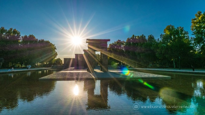 Experiencing the Best of Madrid in a Day - Explore, Eat, Stay Templo de Debod