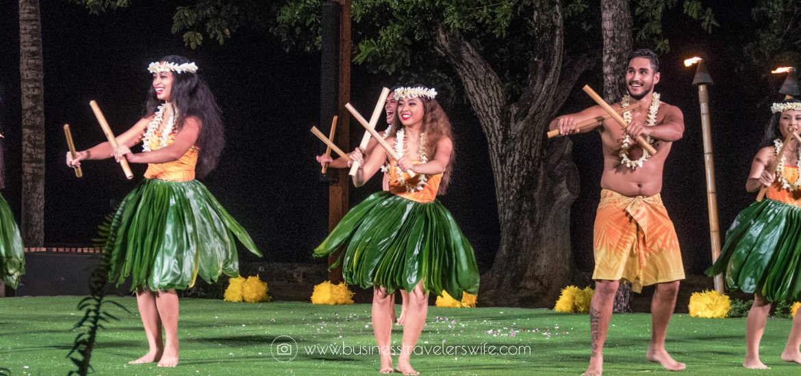 A Feast for the Belly and the Eyes at Old Lahaina Luau in Maui, Hawaii Feast Hula