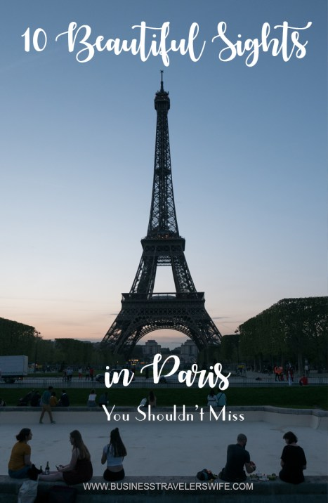 Paris is captivating.  Its stunning views, iconic landmarks, old buildings and bridges, and cobbled streets justify the romantic feel commonly associated with this city.  It is appealing to dreamers and it could easily charm any traveler.  There are many incredible places to visit and if you are only planning a short trip, check this list of 10 beautiful sights in Paris you shouldn't miss.  It also includes free attractions and our top picks from the Paris Museum Pass!