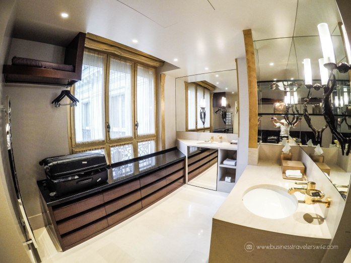 Where to Stay in Paris- 5-Star Hotel and Affordable Accommodations Park Hyatt Paris-Vendome Park Deluxe Suite walk-in closet