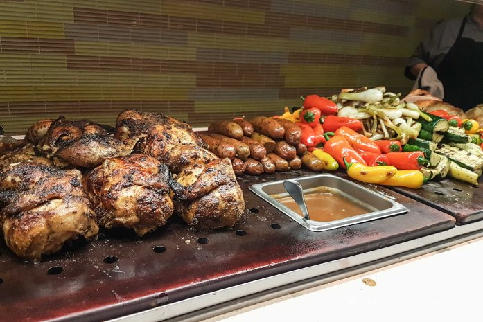 Las Vegas Travel Hack Using myVEGAS Rewards and Hotel Comps Complimentary Dinner Buffet at The Buffet, Aria