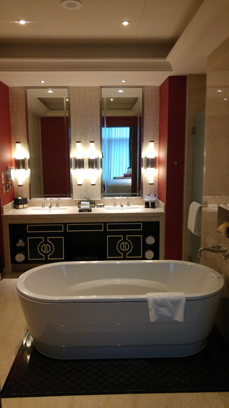 First Look Sheraton Macau Executive Deluxe Suite Business Traveller