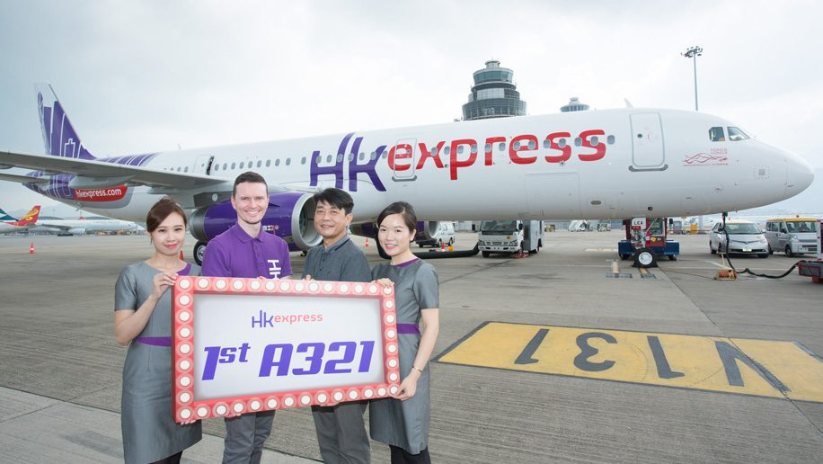 HK Express receives its first A321 - Business Traveller – The leading magazine for ...