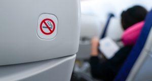 Geen sigaretten meer bij KLM.