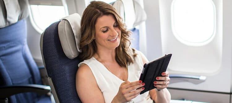 Brussels Airlines: papieren kranten vervangen door e-newspapers