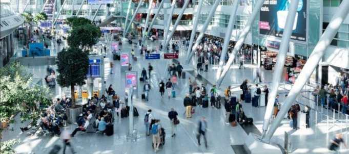 Foto: Düsseldorf Airport.