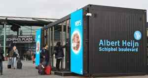 Digitale winkel op Schiphol Plaza