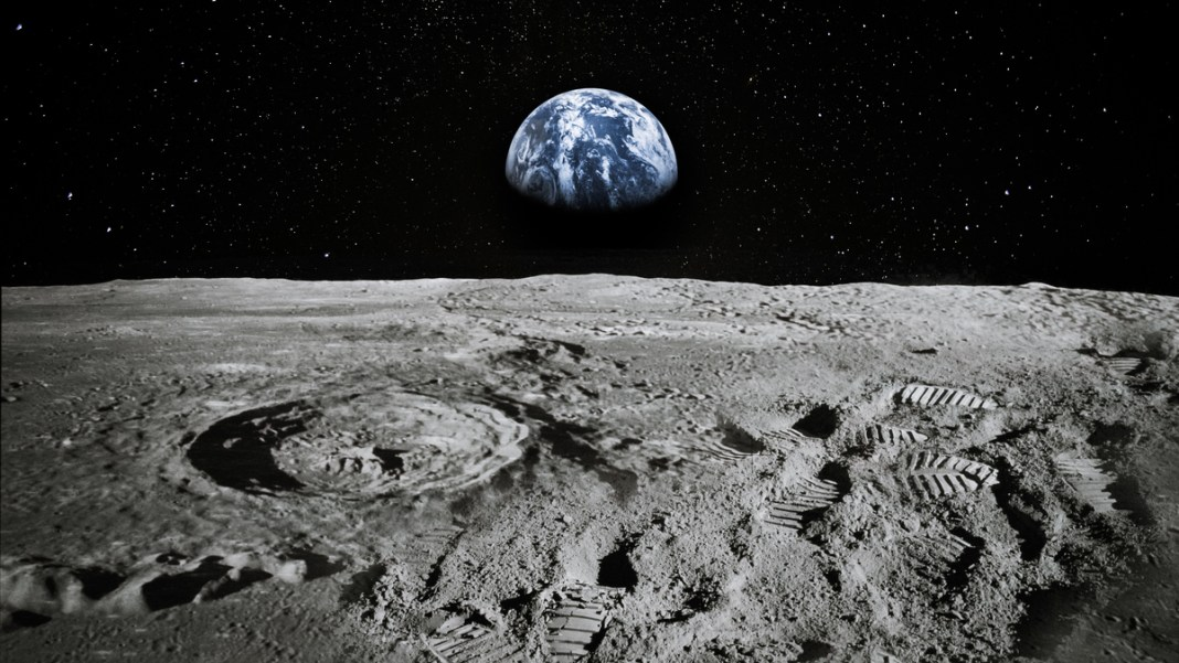 how much water on the moon